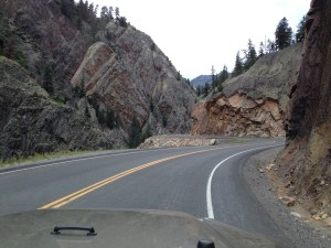 The Million Dollar Highway (CO HWY 550)