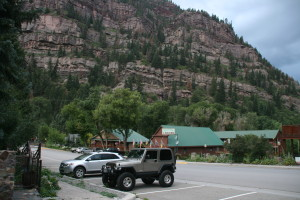 Finally in Ouray.