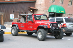 Lots of cool Jeeps around town to gawk at.